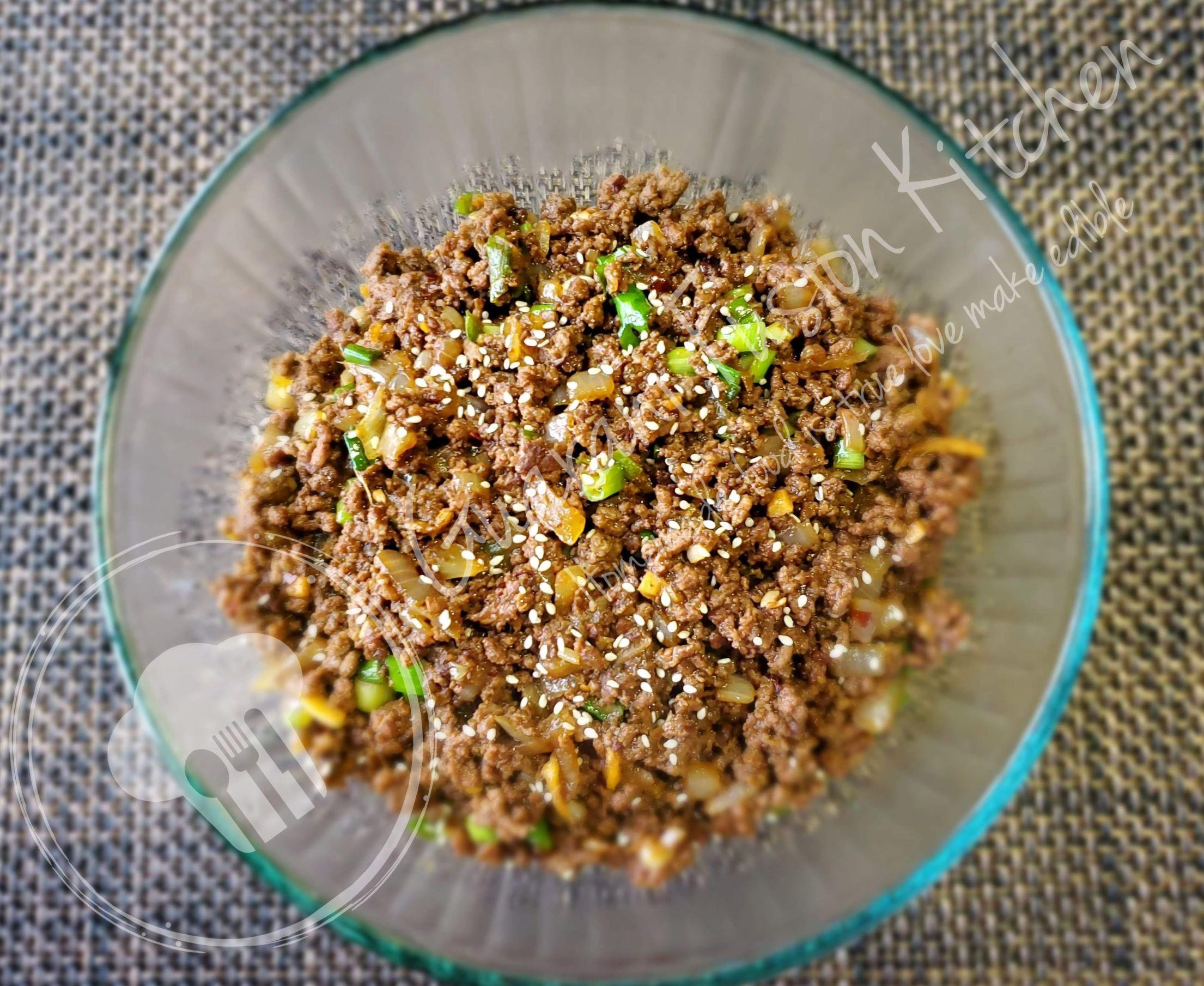 Quick And Easy Korean Ground Beef Bulgogi Style   Guarani ...